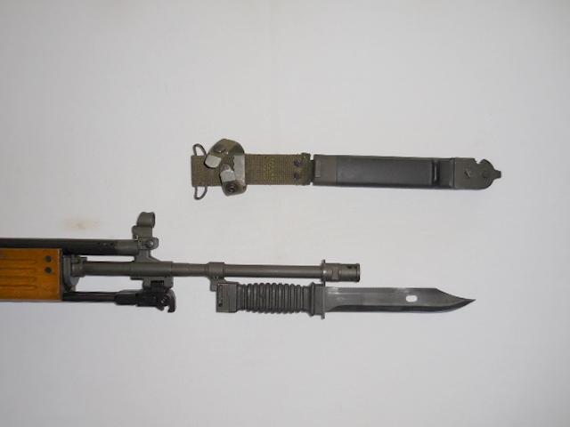 009 Galil SAR/AR Bayonet Lug & Bayonet, 99%! Image