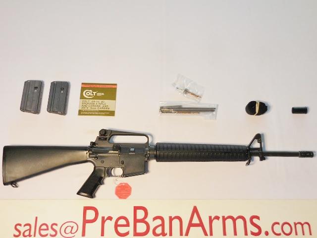 5698 Colt PreBan AR-15 A2 HBAR, Model R6600, 99%! Image