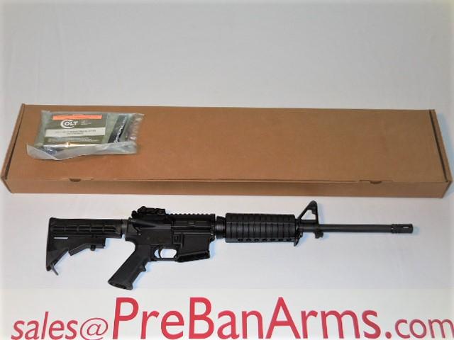 5589 COLT AR6721 COLT AR-15 6721 A3 Tactical Carbine, NIB! Image