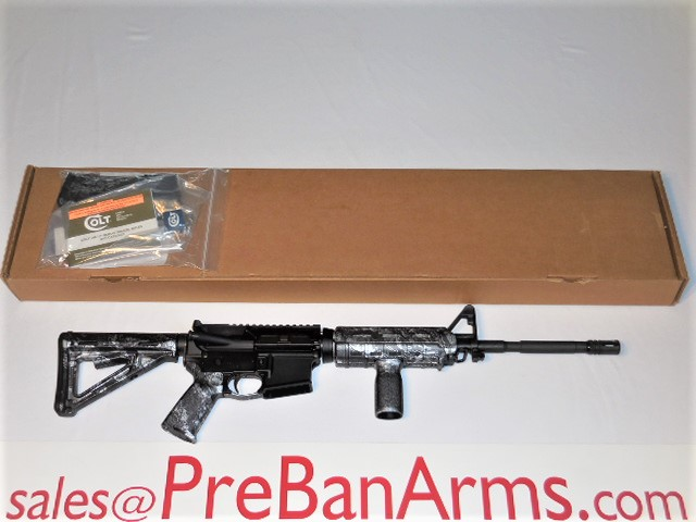 5654 COLT AR-15 LE6920 Reaper Z Silver, NIB! SOLD, ENJOY, DOUG! Image