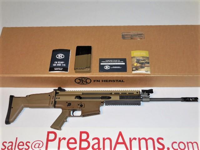 6365 FN SCAR 17S FDE, 7.62 NATO, NIB! Image