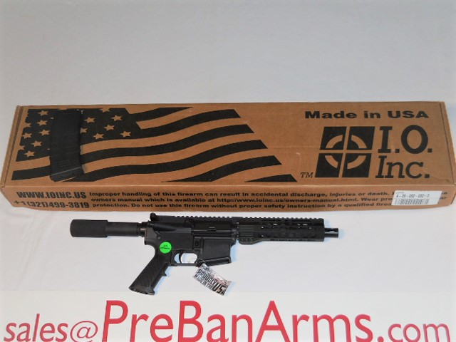 6237 IO Inc. AR-15 Micro Pistol 5.56 NIB! Image
