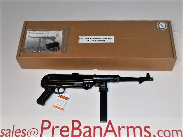 6547 GSG MP-40 9MM, German Sport Guns MP40 NIB! Image