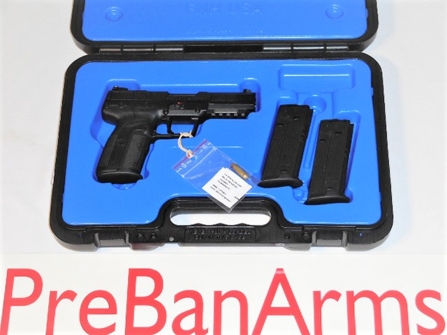 6424 FN 5.7 Five Seven Pistol Black MK II NIB! Image