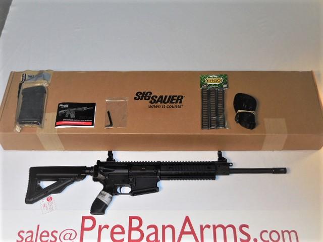 5193 Sig 716 Black Patrol Rifle SIG R716-16B-P .308 NIB! SOLD, ENJOY, JULIAN! Image