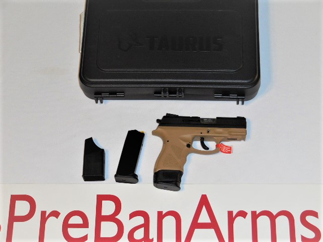 6384 TAURUS TH9, TAURUS TH9 9MM FDE, NIB! Image