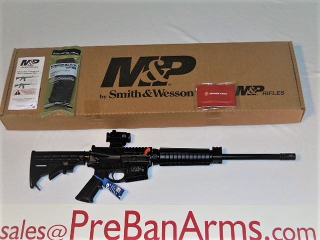 6627 S&W M&P15 Sport II w/Optic, S&W M&P15 AR-15, S&W 12936, NIB! Image