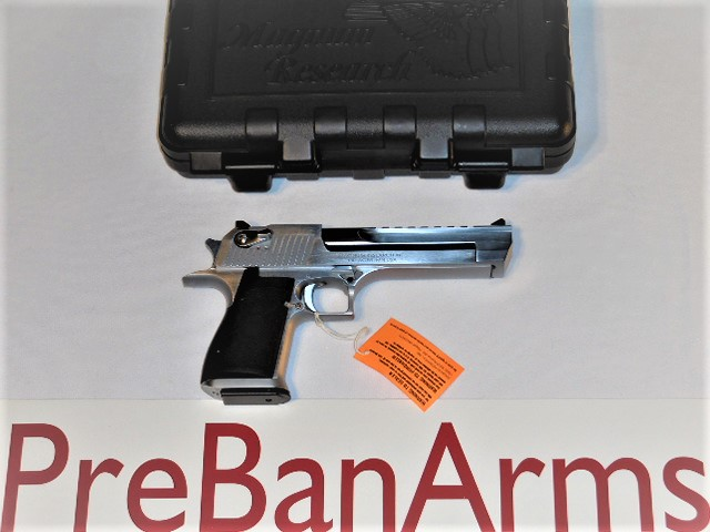 6631 Desert Eagle 50AE Brushed Chrome, NIB! Image