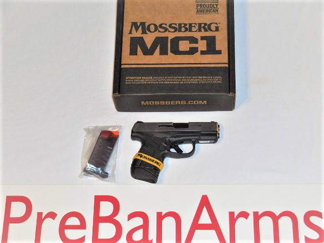 6637 Mossberg MC1SC, Mossberg 9MM, Two Mags, NIB! Image