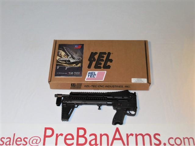 6612 Keltec Sub 2K Glock 19 Mags, SUB-2K9GLK19BBLKHC NIB! Image
