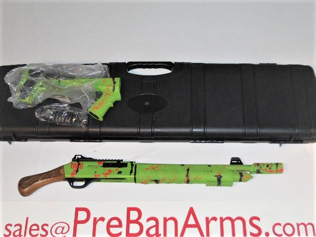 6673 Emperor Arms Green Zombi NON NFA Semi-Auto 12 Gauge, NIB! Image