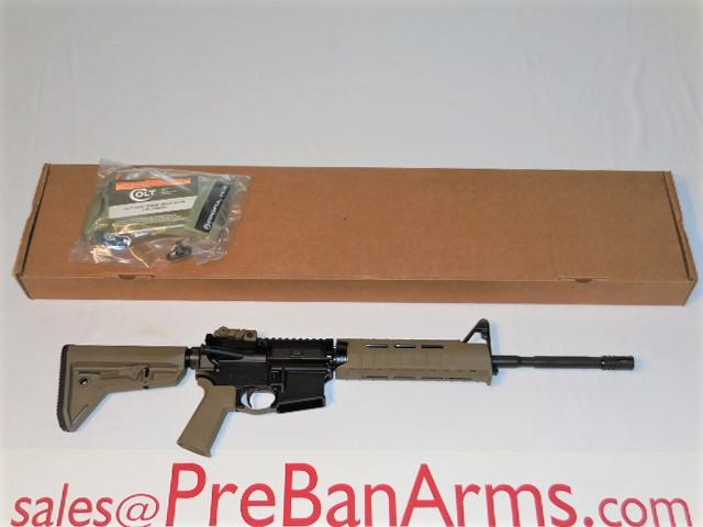 6708 COLT 6920, Colt LE6920 FDE, LE6920MP-FDE, NIB! Image