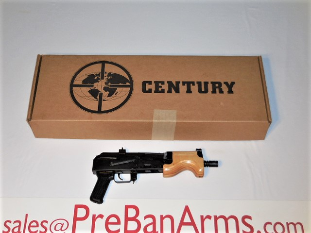 6731 Century AK-47 MICRO DRACO, 7.62x39 AK47 Draco, NIB! Image