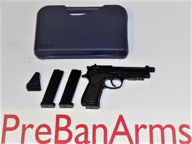 6702 Beretta 92F 9mm Threaded Barrel, 92FS Italian, NIB! Image