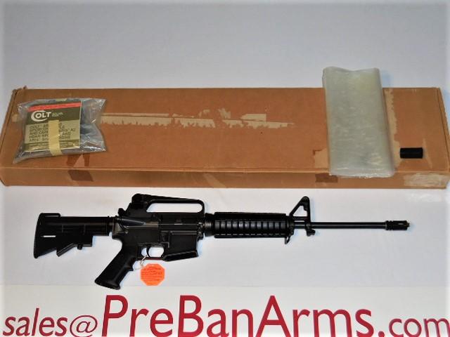 6800 COLT Pre Ban R6520 NIB, R6520 with Fence, VERY RARE, NIB! Image