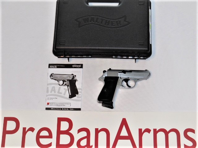 6838 Walther PPK/S 22LR, Walther 5030320, NIB! Image