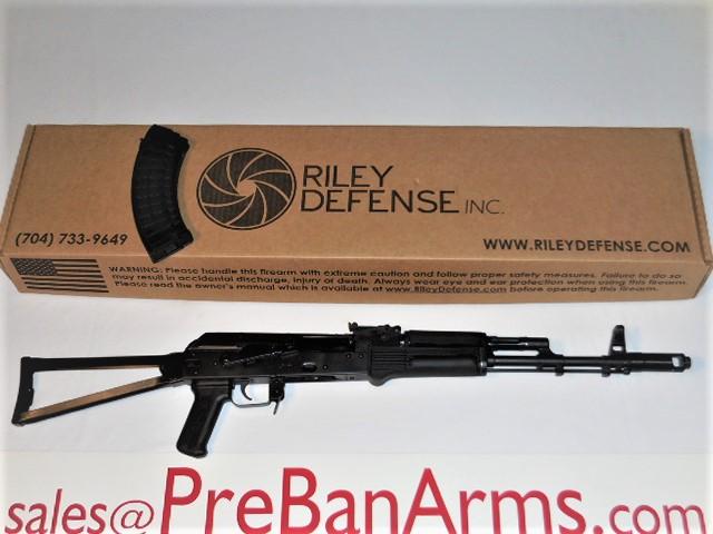 6872 Riley Defense AK-47 Folder, Riley RAK47, 7.62x39 AK47, NIB! Image