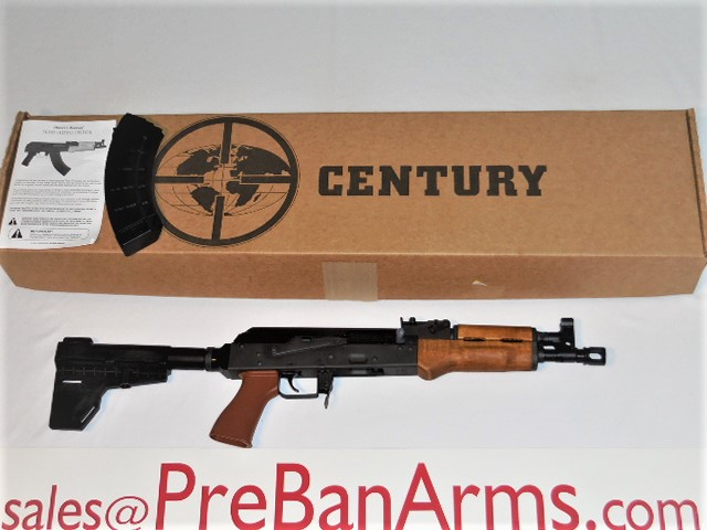 6991 Century AK-47 DRACO, 7.62x39 AK47 DRACO, NIB! Image
