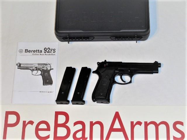 7018 Beretta 92F 9MM, Beretta 92F J92F630, NIB! Image