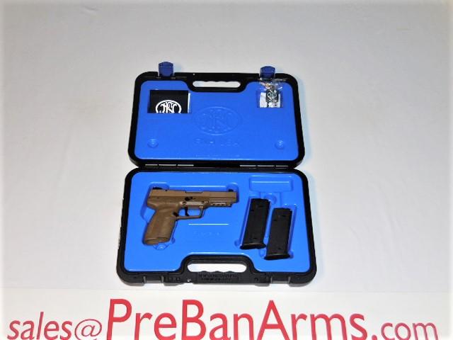 7059 FN 5.7 Five Seven Pistol FDE MKII Pistol NIB! Image