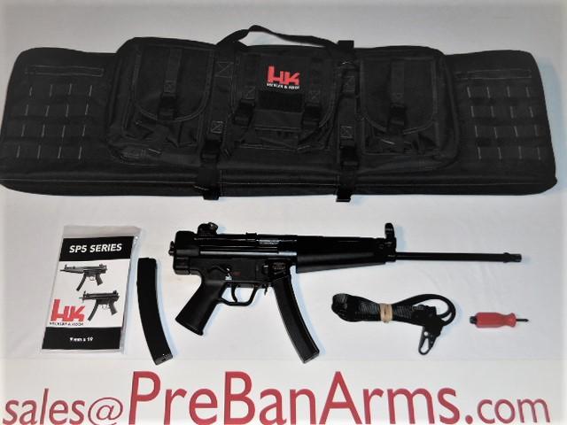 7073 HK SP5L 9MM Pistol, HK 81000479, NIB! Image